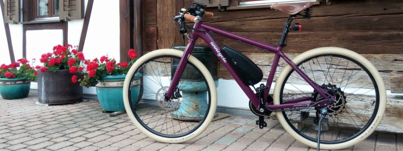Onncycle - e-bike 100% Custom Design